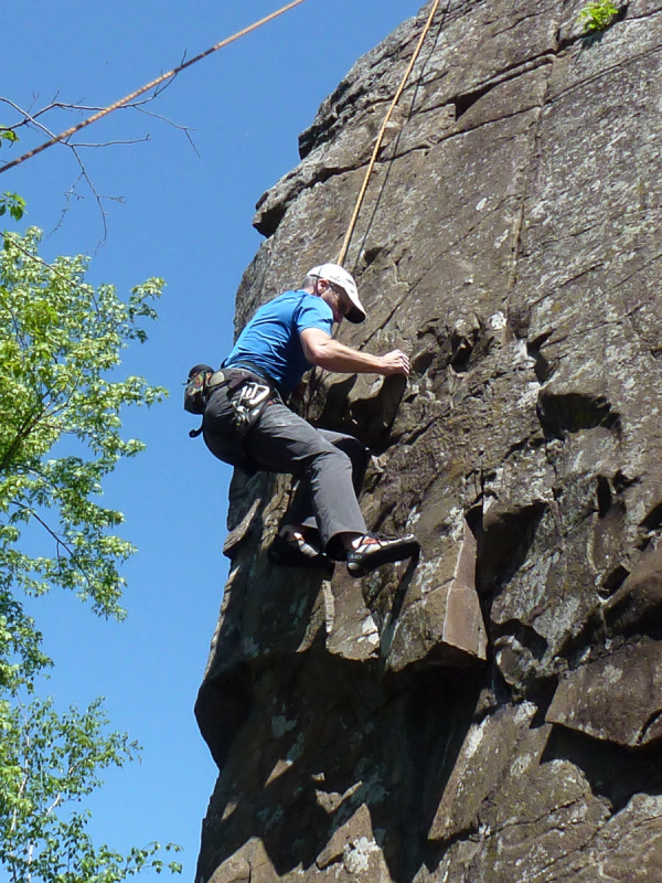 Mike farris on The Old Man (5.8-), Taylors Falls