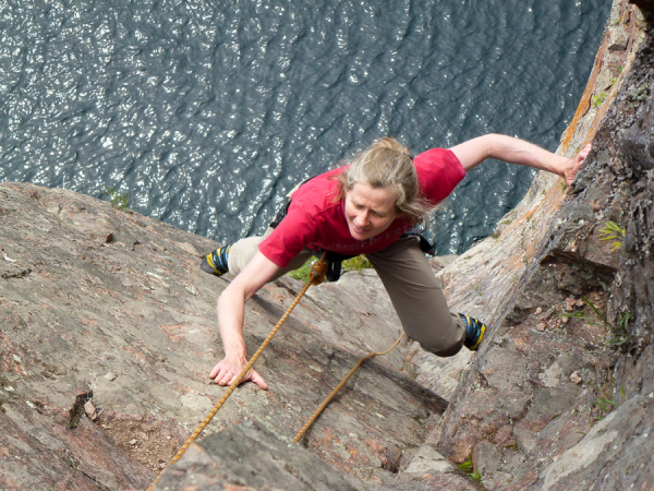 Jodie Hirsch on Only the Lonely, Shovel Point.